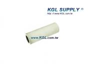 PR32 3 INCH Rubber Roller, 1/2 Bore