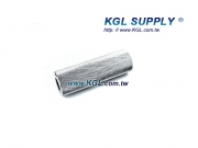 PR33 3 INCH Knurled Roller, 1/2 Bore
